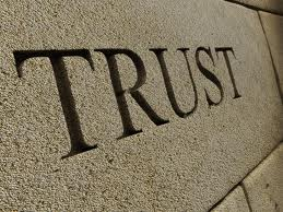 trust in stone